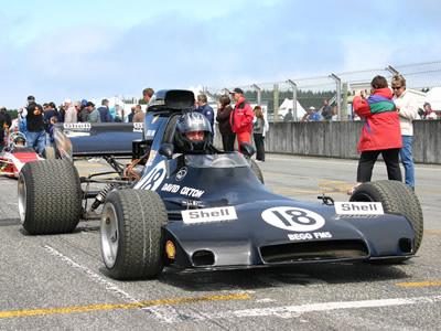 The Begg FM5 at the Classic Speed Fest at Teretonga in February 2007. Copyright Kevin Thomson  2016. Used with permission.