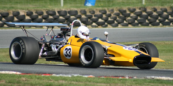 One of the newcomers for the 2007/08 season was this Lola T142, acquired from the US by Steve Ross.  Copyright Kevin Thomson 2008.  Used with permission.