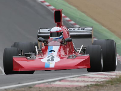 David Abbott's Lola T430 at Brands Hatch in July 2005, now with an original T430 nose.  Copyright Warbirds Photography 2005.  Used with permission.
