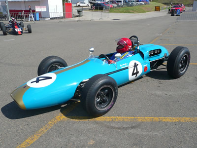 David Jacobs in his Brabham BT4 at Eastern Creek in Australia in 2008. Copyright Jim Barclay  2015. Used with permission.