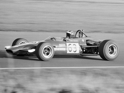 Chris Skeaping's Chevron B17 at Thruxton in September 1970. Copyright Chris Bennett  2014. Used with permission.