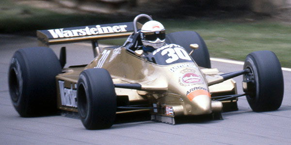 Jochen Mass in the Arrows A3 at the 1980 British Grand Prix. Copyright David Bishop  2018. Used with permission.