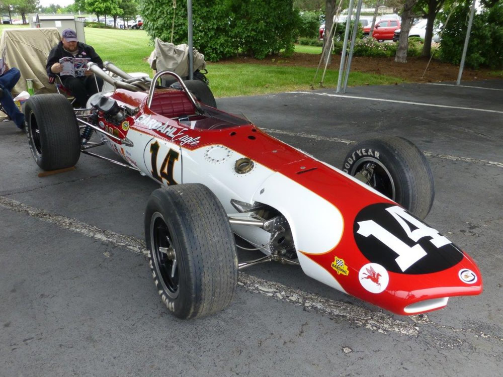 Dave Smith Used Cars >> Eagle 1966 Indy car-by-car histories | OldRacingCars.com