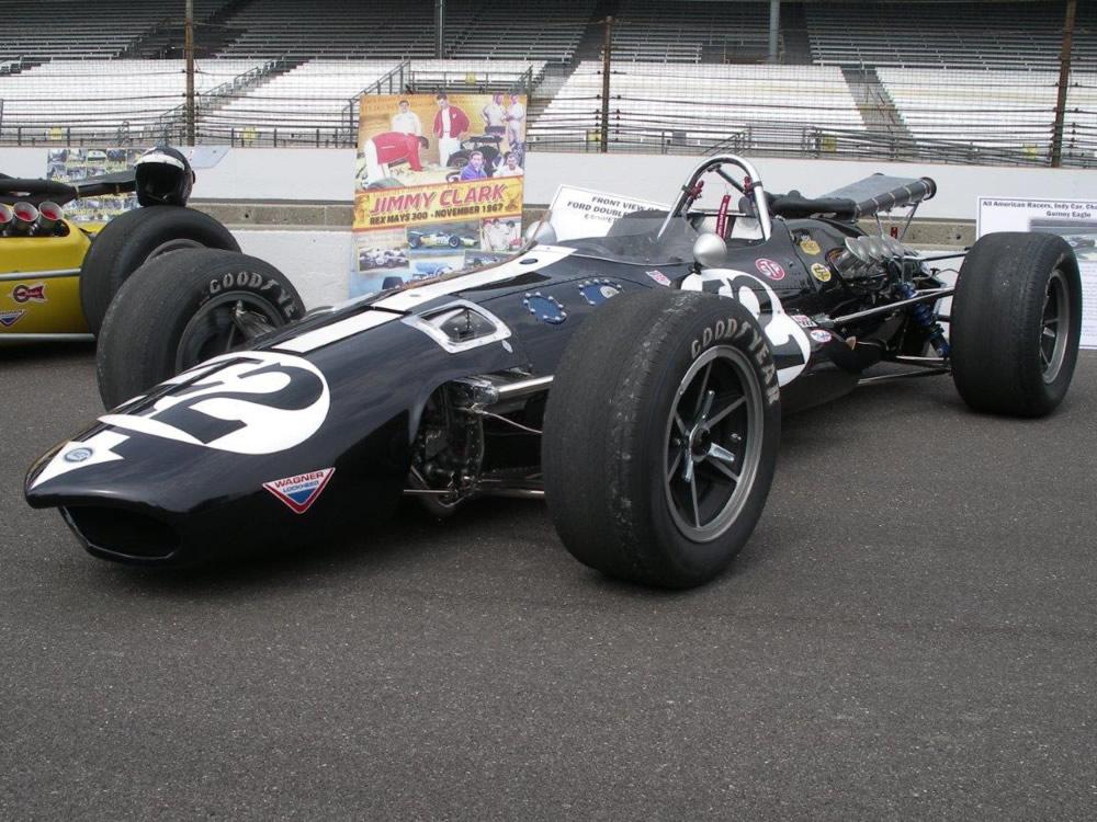 Eagle 1967 Indy car-by-car histories   OldRacingCars.com
