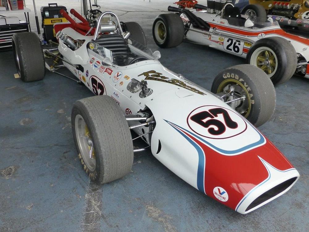 Gerhardt 1966 Indy car-by-car histories | OldRacingCars.com