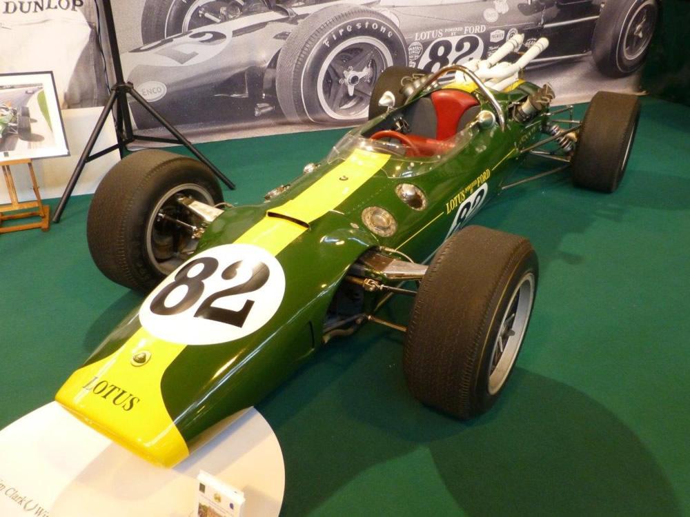 Lotus 38 car-by-car histories   OldRacingCars.com
