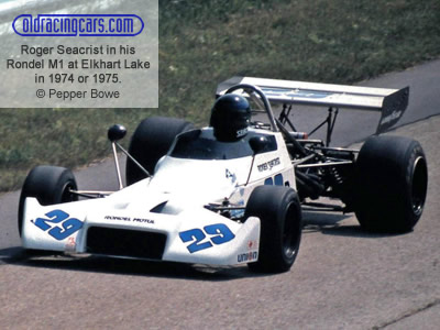 Roger Seacrist in his 