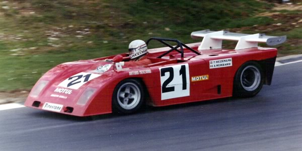 The Abarth SE021 of Toine Hezemans, seen here at the BOAC 1000 km race.  Copyright Richard Bunyan 2011.  Used with permission.