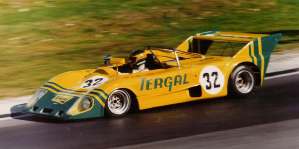 The Lola T292 of Roger Heavens team at Brands Hatch in October 1974.  Copyright Richard Bunyan 2014.  Used with permission.