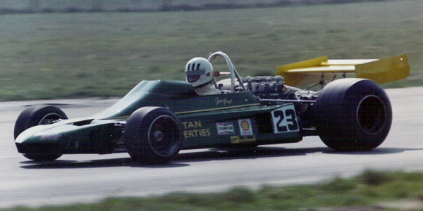 Tom Pryce drove the Token RJ02 on its debut at the 1974 International Trophy, retiring early with gearbox problems. Copyright Richard Bunyan  2007. Used with permission.