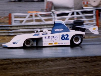 Diego Montoya's V.I.P. Cars Frissbee at St Petersburg in November 1985. Copyright Terry Capps  2014. Used with permission.