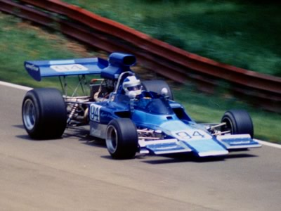Eppie Wietzes in HU11 at Mid-Ohio in 1973. Copyright Terry Capps 2013. Used with permission.