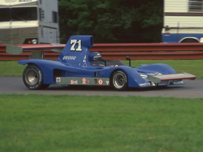 John David Briggs at Mid-Ohio in 1977. Copyright Terry Capps  2014. Used with permission.