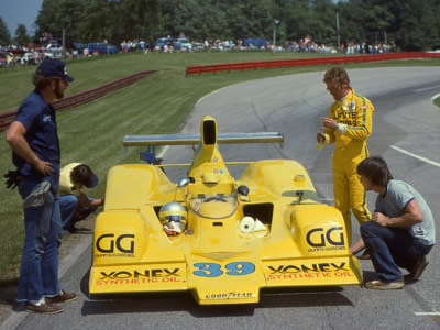 John Gunn at Mid-Ohio in 1978. Copyright Terry Capps 2014.  Used with permission.