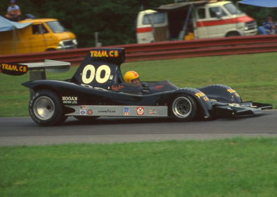 Randy Lewis at Mid-Ohio in 1977. Copyright Terry Capps 2014.  Used with permission.