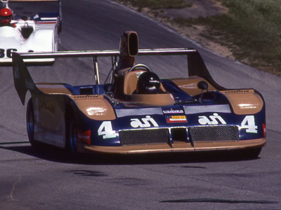 Danny Sullivan in his Lola T530 at Mid-Ohio in 1981. Copyright Terry Capps  2014. Used with permission.