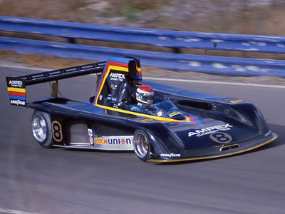 Bobby Rahal in the '79 Prophet at Laguna Seca in October 1979. Copyright Terry Capps 2016. Used with permission.