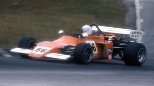Ric Forest in his March 722 at Mosport Park in October 1972.  Copyright owned by the Canadian Motorsport Hall of Fame.  Used with permission.