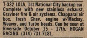 Autoweek 7 Sep 1977.