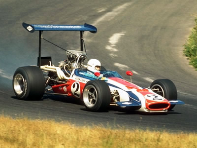 John Cannon in the all-conquering Carl Hogan M10B in 1970.  Copyright-free image distributed by Corel.