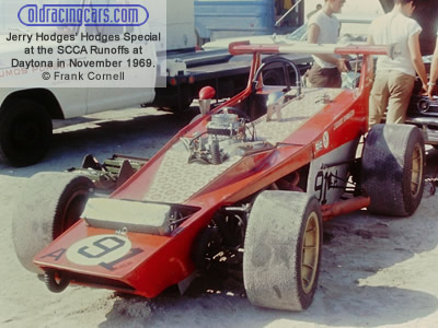 Jerry Hodges' front-engined Formula A Hodges Special at the SCCA Runoffs at 