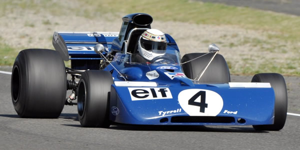 Tyrrell 002-004 car-by-car histories | OldRacingCars com