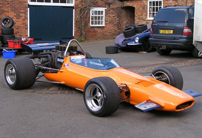 Barry Davison's McLaren M10B in August 2006. Copyright Barry Davison  2006. Used with permission.