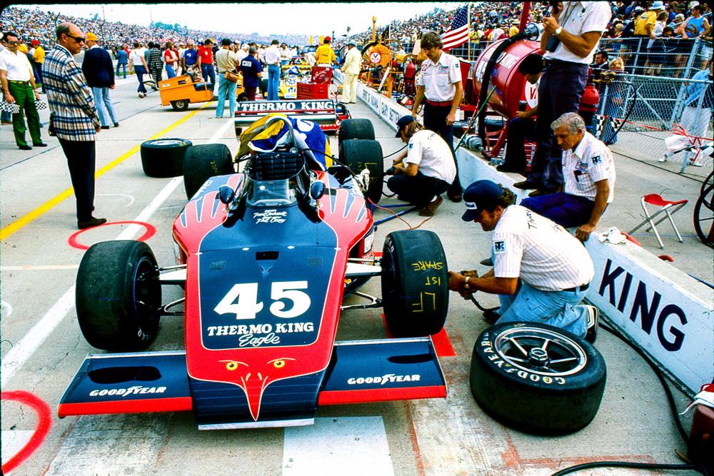 Eagle 1972 Indy car-by-car histories | OldRacingCars.com