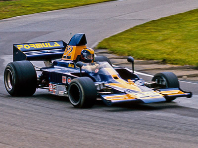 John Benton in his Formula-liveried Lola T330 at Mid-Ohio in 1976. Copyright Richard Deming 2016. Used with permission.