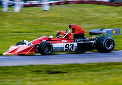Geoff Davie's March 73A/741 at Mid-Ohio in 1976. Copyright Richard Deming 2016. Used with permission.