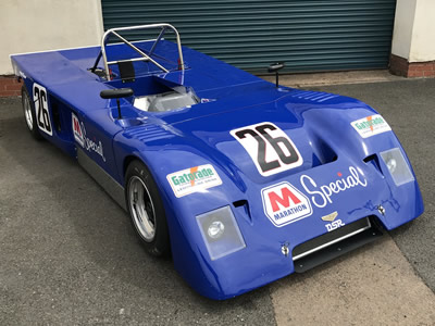 Marc Devis's former #48 Chevron B19 in 2018. Copyright Marc Devis 2018. Used with permission.