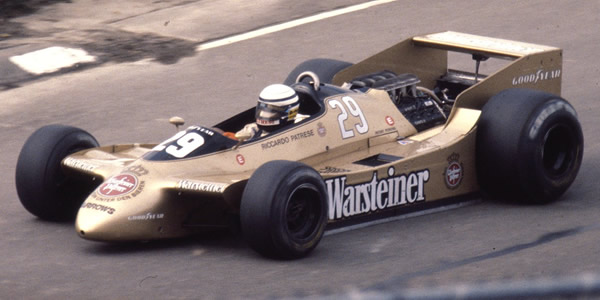 Riccardo Patrese in the Arrows A2 at Watkins Glen in 1979. Copyright Wayne Ellwood  2004. Used with permission.