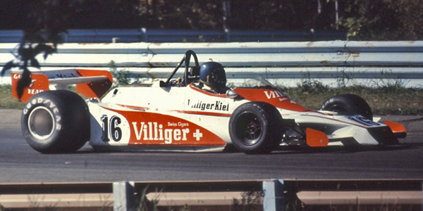 Hans Stuck at Watkins Glen for the 1978 US GP, in Shadow DN9/5A, easily recognisable by its unique rollhoop supports. Copyright Wayne Ellwood  2017. Used with permission.