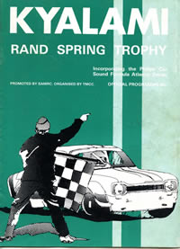 Rand Spring Trophy 1976 program cover