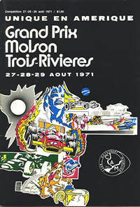 Trois Rivieres 1971 program cover