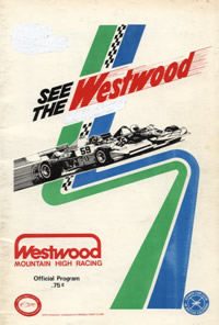Westwood 1977 program cover
