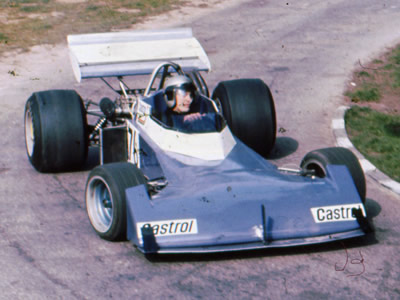 Richard Jones in his Surtees TS10 at Wiscombe Park in 1974. Copyright Ted Walker (Ferret Fotographics)  2012. Used with permission.