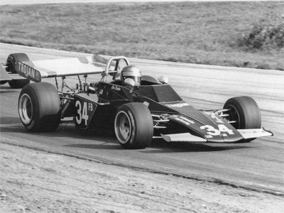 Ken Duclos winning the SCCA amateur title at the Runoffs in November 1973 in his Brabham BT40. Copyright Ted Walker 2019. Used with permission.