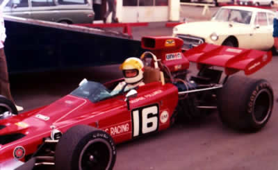 George Follmer's Lotus 70B at Riverside in 1972. Copyright Jim Hawes 2013. Used with permission.