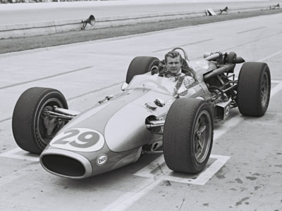 Bob Hurt qualified Malcolm J. Boyle's Rev 500 Special for Indy in 1967 but was bumped.  Part of the Dave Friedman collection. Licenced by The Henry Ford under Creative Commons licence Attribution-NonCommercial-NoDerivs 2.0 Generic. Original image has been cropped.