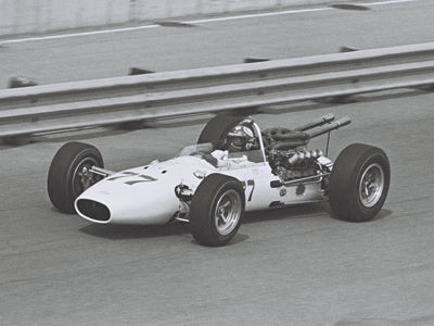 George Walther's first 1966 Gerhardt at Phoenix in March 1966.  Part of the Dave Friedman collection. Licenced by The Henry Ford under Creative Commons licence Attribution-NonCommercial-NoDerivs 2.0 Generic. Original image has been cropped.