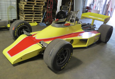 The McLaren M24 that Ralph Hume is restoring for Vern Schuppan. Copyright Ralph Hume 2018. Used with permission.