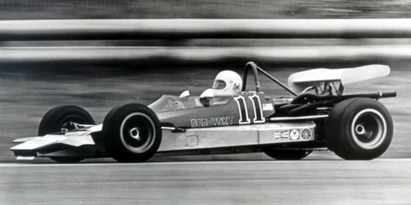 Syd Demovsky in his Lola T240 at Laguna Seca in 1972. Copyright Gus Hutchison  2006. Used with permission.