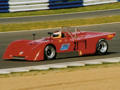 Bruce Van Der Merwe at Silverstone in May 1998. Copyright Jeremy Jackson 2009. Used with permission.