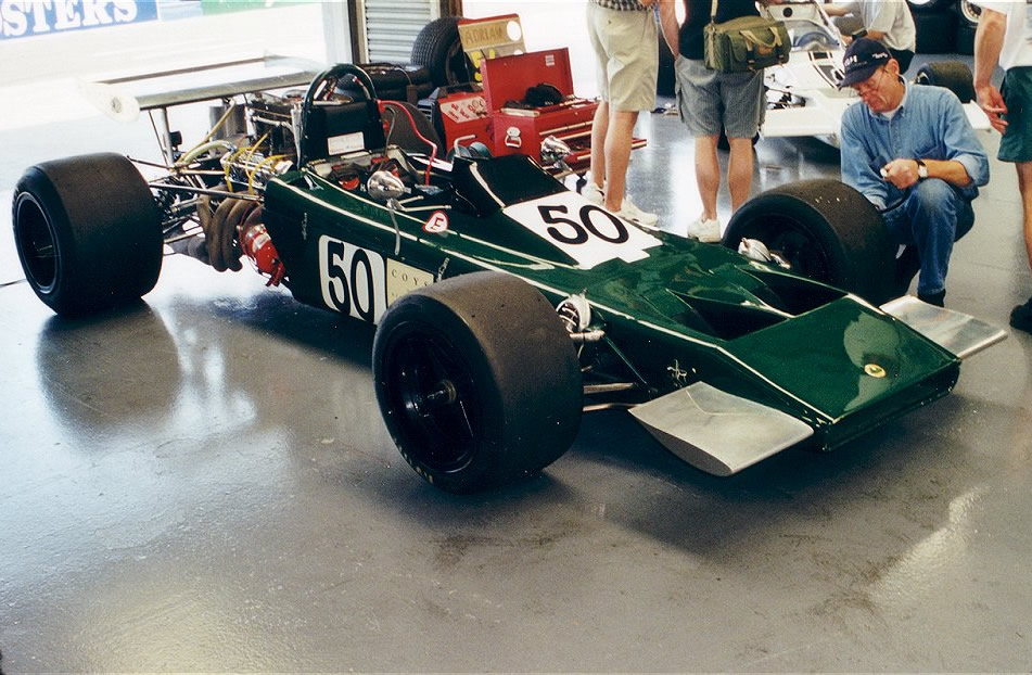 Lotus 70 car-by-car histories | OldRacingCars.com