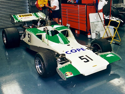 Nick Rini's T300 HU12 at Silverstone in 1999. Copyright Jeremy Jackson  2003. Used with permission.
