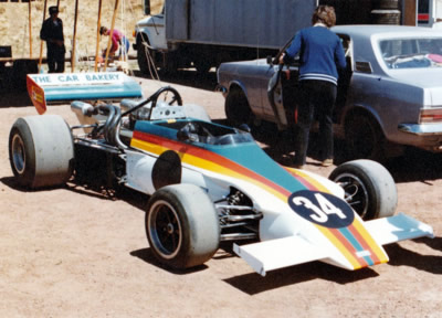 Ray Gibbs' March as raced by Russell Davidson in Australia in late 1981 and early 1982. Copyright Chris Jewell (<a href='https://www.facebook.com/VelocityRetro'>Velocity Retro</a>) 2015. Used with permission.