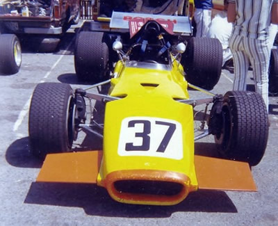 Horst Kroll's T142 at Westwood in May 1970, his last race in this car before its crash at Seattle. Copyright Tom Johnston . Used with permission.