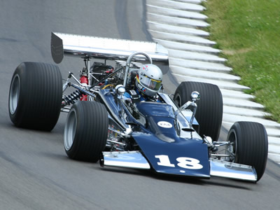Mike Knittell in his Chinook Formula 5000 at Watkins Glen in 2010. Copyright Jim Knerr 2016. Used with permission.