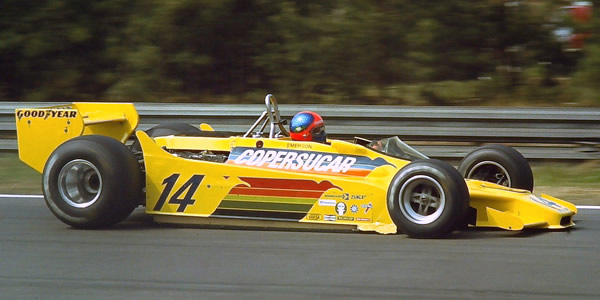 Emerson Fittipaldi in the Fittipaldi F5A at the 1979 Belgian Grand Prix. Copyright Martin Lee  2017. Used with permission.